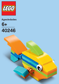 LEGO Rainbow Mini Build Parts & Instructions Kit