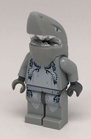 LEGO Shark Warrior Minifigure Atlantis 8078