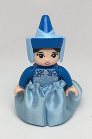 LEGO Duplo Disney Fairy Godmother Figure Minifigure 10542