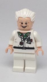 LEGO Back to the Future Doc Brown Minifigure 21103