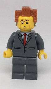 LEGO The LEGO Movie President Business Minifigure 70818