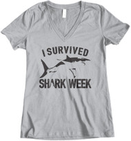 I Survived Shark Week - Grey