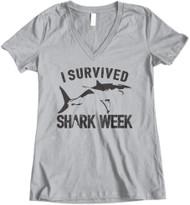 I Survived Shark Week - Grey