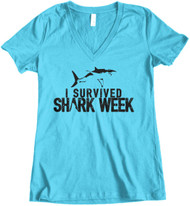 Survived Shark Week - Turquoise
