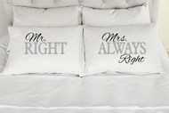 Mr. Right, Mrs Always Right