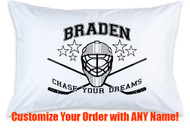 Hockey Helmet Customizable Please Specify Name Desired In The Comments At Checkout