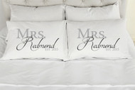Mrs. Mrs. Kensington Style Please Make Sure To Add The Custom Names & Date Desired In The Comments At Checkout