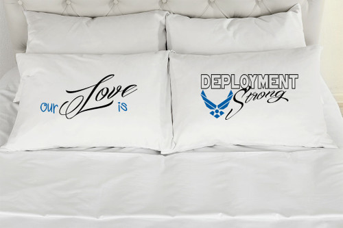 Our Love Is Deployment Strong - Airforce - Blue