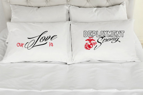 Our Love Is Deployment Strong - Marines - Red
