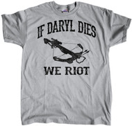 We Riot Cross Bow Grey
