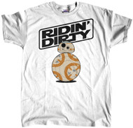 BB8 Ridin Dirty White