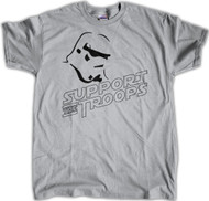 Support the Troops Grey