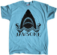 JAWSOME Shark Shirt - Blue