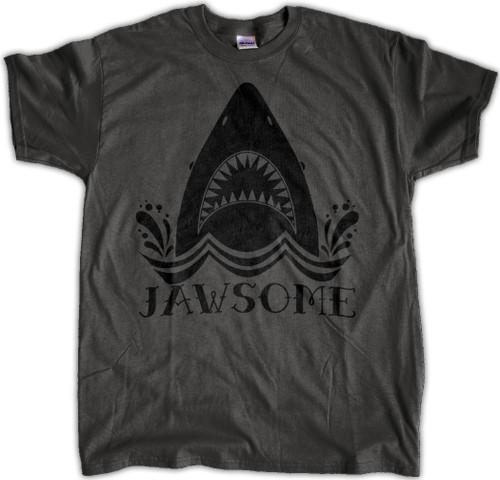 JAWSOME Shark Shirt - Charcoal