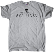 The Truth is Out There - Alien Head Grey