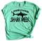 I Survived Shark Week - Heather Mint