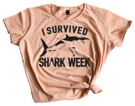 I Survived Shark Week 2 - Dusty Rose