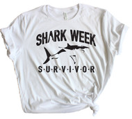 Shark Week Survivor - White