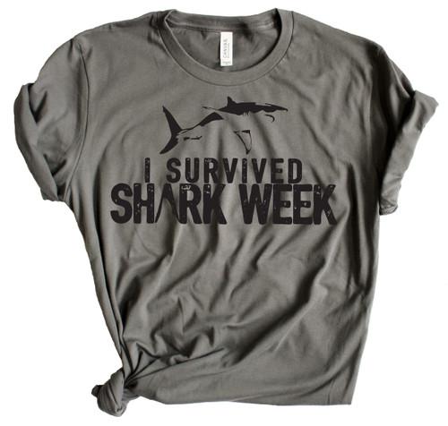 I Survived Shark Week 3 - Charcoal