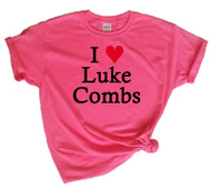 Love Luke Combs Pink