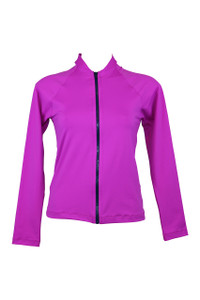 Fuschia Rash Jacket:  To compliment any bust support or tummy control swimsuit