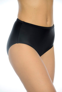 Black Full Pant with powermesh lining for tummy control
