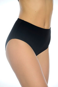 Silhouette Black Full Pant With tummy control for support and fully lined back.