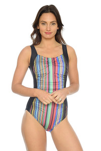 Sunset Dreams Ruched Tank One Piece