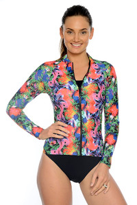 Tropical Garden UPF50+ Rash Jacket