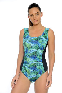 Jungle Mastectomy, Chlorine Resistant One Piece Swimsuit.