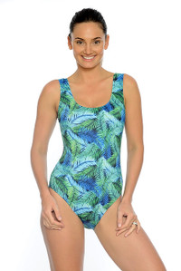 Jungle Chlorine Resistant One Piece Swimsuit.
