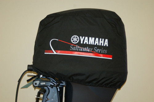 YAMAHA Deluxe Outboard Motor Cover - Saltwater Series MAR-MTRCV-11-SS
