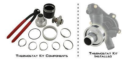 Sea Doo RIVA 4-TEC Thermostat Kit RXP RXT GTX GTI GTR 255/215/185/130HP  RS1015