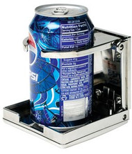 SEACHOICE CHROME ADJUSTABLE DRINK HOLDER SCP 79411