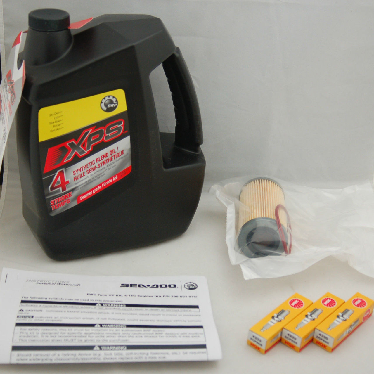 Sea Doo 4-Tec BRP OEM Maintenance Oil Change Kit RXP RXT GTX GTI ALL 4-TEC