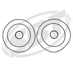 Polaris Head O'Ring Kit 700 SLH /SL 700 /SL 900 /SLT /SLTX