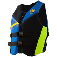 2016 Men's Cause Neoprene PFD by JetPilot® Blue Front View