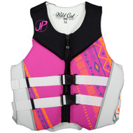 2016 Women's Wildcat Neoprene PFD by JetPilot® Pink Front View