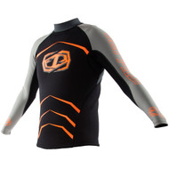 2016 Men's Apex Race Jacket Wetsuit by JetPilot® Orange Front View
