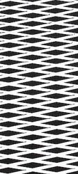 "Hydro Turf Traction Mat ROLL Molded Diamond BLACK W/ WHITE 40"" x 62"" w/ 3M PSA (SHT40MD-BLACK/WHITE-PSA)"