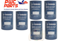 YAMAHA OEM Outboard 6-PACK Fuel/Water Separating Filter 10-Micrn MAR-FUELF-IL-TR