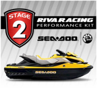 SEADOO 2010 RXT iS 260 RIVA Stage 2 Kit 74+ MPH Pwr Filter Impeller MaptunerX