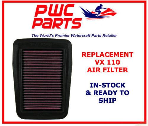 YAMAHA VX Performance Air Filter Sport Deluxe Cruiser 110 1100  6D3-14451-00-00