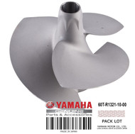 YAMAHA OEM Impeller 60T-R1321-10-00 2005-2008 GP1300R 2- & 3-PASS PWC Models
