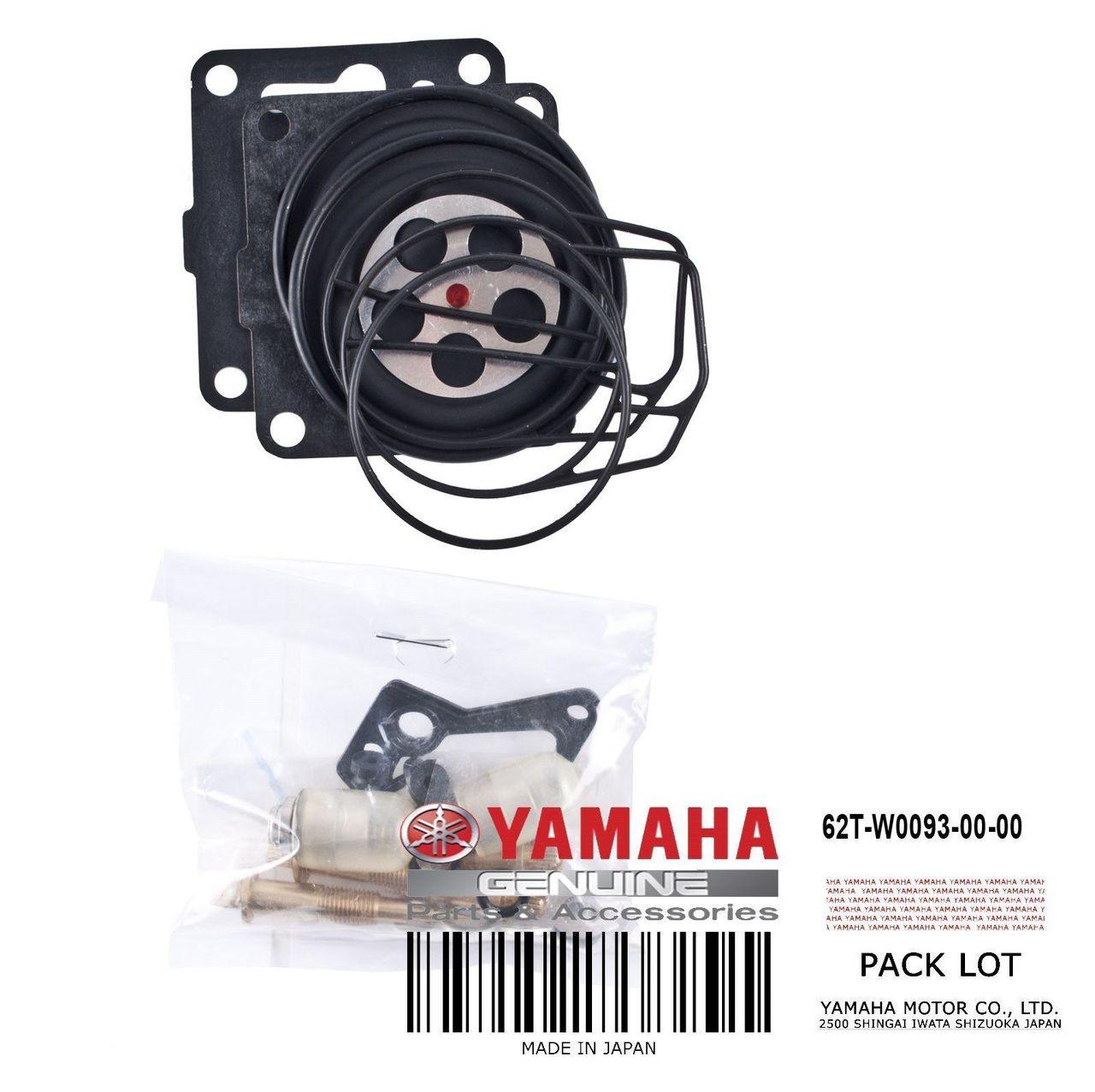 YAMAHA OEM Carburetor Repair Kit 62T-W0093-00-00 1994-1999 Wave Raider  Venture +