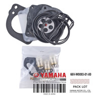 YAMAHA OEM Carburator Repair Kit 66V-W0093-01-00 2000-2005 Jet Boat XR & PWCs