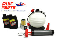SeaDoo SPARK BRP Oil Change Kit ACE 900 OEM Filter O-Ring Oil Extractor Pump