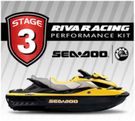 SEADOO 2009 RXT iS 255 RIVA Stage 3 Kit 77+ MPH Thermostat Impeller MaptunerX