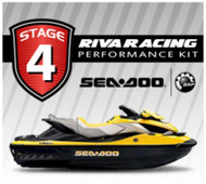 SEADOO 2009 RXT iS 255 RIVA Stage 4 Kit 80+ MPH XXX-2 Charger Cooling MaptunerX