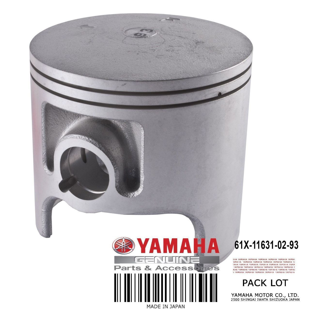 Yamaha 6B6-11603-00-00 PISTON RING SET STD